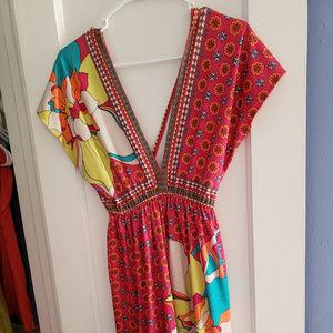 Vintage Psychedelic Dress
